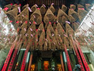 ベトナム 天后宮(ティエンハウ廟)の写真素材 [FYI00236812]