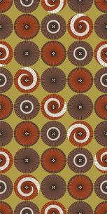 シームレスパターン・連傘の写真素材 [FYI00236864]