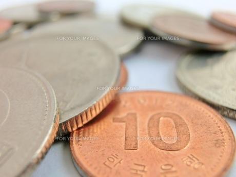 韓国のお金の写真素材 [FYI00237300]
