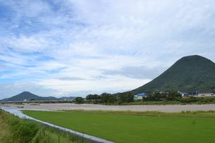 飯野山の写真素材 [FYI00237487]