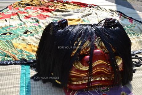 獅子舞の写真素材 [FYI00237535]