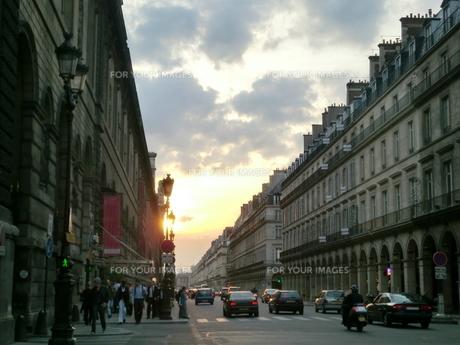 パリの街並みの写真素材 [FYI00237628]