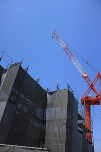 工事現場の写真素材 [FYI00237629]