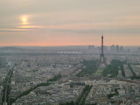 パリの風景の写真素材 [FYI00237630]