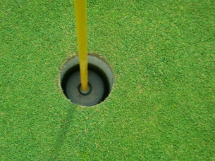 ゴルフカップの写真素材 [FYI00237643]