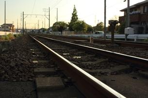 線路の写真素材 [FYI00237652]