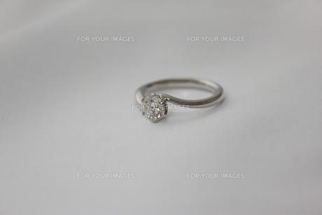 婚約指輪の写真素材 [FYI00237673]