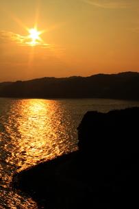 海の夕日の写真素材 [FYI00237686]
