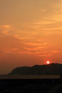 海の夕日の写真素材 [FYI00237698]