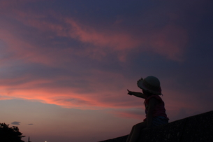 空の向こうの写真素材 [FYI00237705]