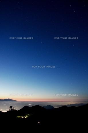 夕空の写真素材 [FYI00237976]