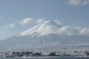 春の富士山の素材 [FYI00238357]
