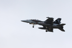 離陸するF-18の写真素材 [FYI00238633]