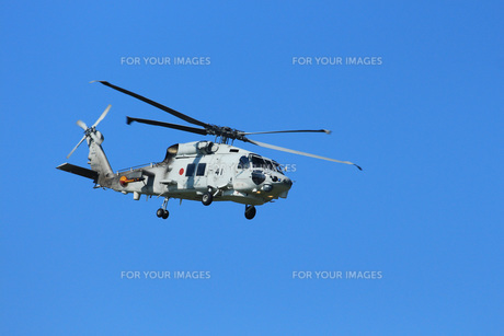 SH-60K海上自衛隊ヘリコプターの写真素材 [FYI00238751]