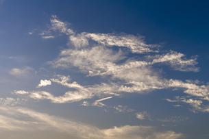 夕焼けと青空の写真素材 [FYI00238903]