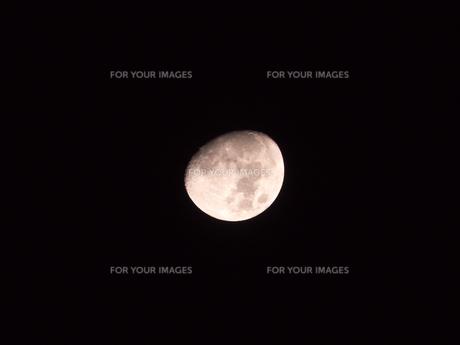 お月さまの写真素材 [FYI00238950]