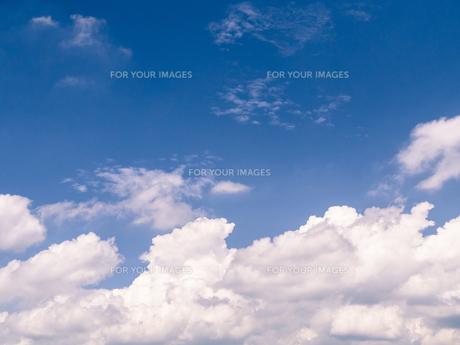 夏の青空の写真素材 [FYI00238994]