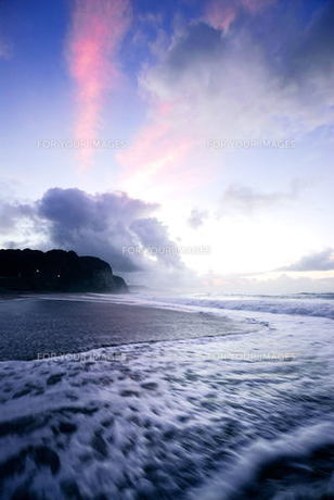 波の素材 [FYI00239349]