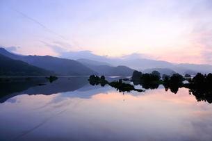 秋元湖の写真素材 [FYI00239395]