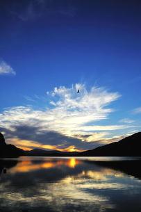 秋元湖の写真素材 [FYI00239410]