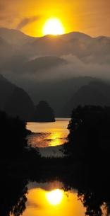 秋元湖の写真素材 [FYI00239419]