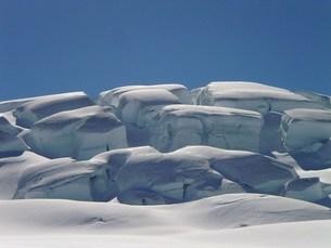 雪割れの写真素材 [FYI00239629]