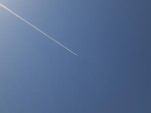 飛行機雲の写真素材 [FYI00239655]