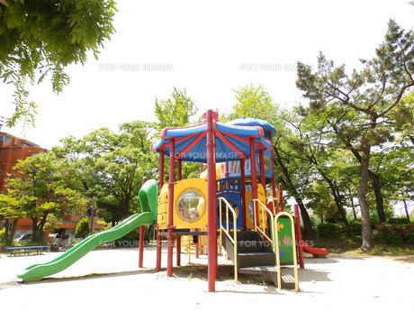 公園の遊具の写真素材 [FYI00239675]