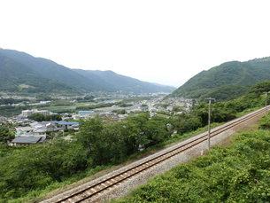徳島県山中の町並みの写真素材 [FYI00239697]