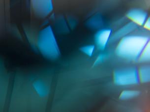 青い反射の写真素材 [FYI00240309]