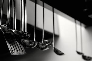 厨房の調理道具の写真素材 [FYI00240334]