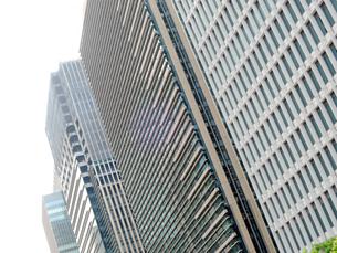 高層ビル街の写真素材 [FYI00240541]