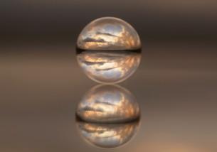 水晶玉の素材 [FYI00240647]
