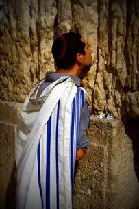 イスラエル、嘆きの壁の写真素材 [FYI00240679]