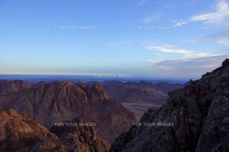 シナイ山からの眺めの写真素材 [FYI00240713]