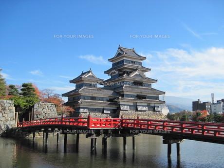松本城の写真素材 [FYI00241575]