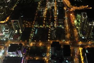 台北101からの夜景の写真素材 [FYI00241578]