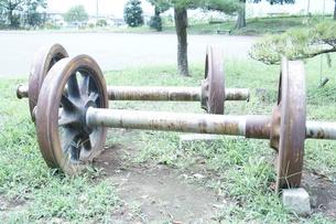 車輪の写真素材 [FYI00241797]
