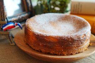 ベイクドチーズケーキの写真素材 [FYI00242199]