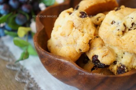 レーズン・クッキーの素材 [FYI00242206]