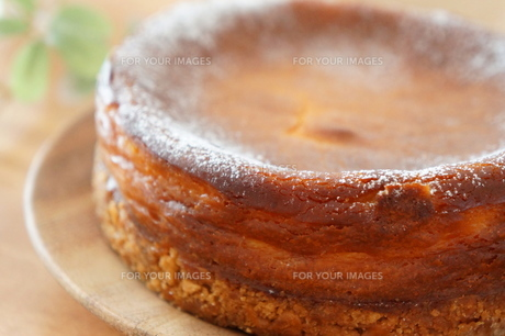ベイクド・チーズケーキの素材 [FYI00242282]
