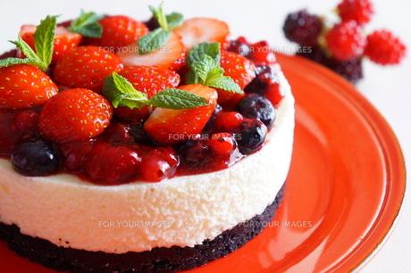 ベリーのケーキの素材 [FYI00242285]