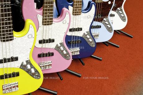 エレキギターの写真素材 [FYI00242340]