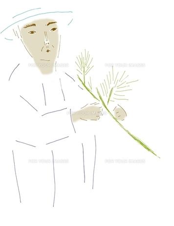 植木職人の写真素材 [FYI00242692]