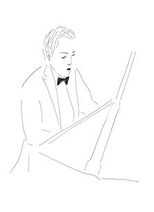 ピアニストの写真素材 [FYI00242702]