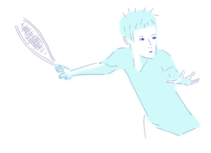 テニスの写真素材 [FYI00242716]