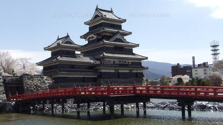 国宝松本城 埋の橋の素材 [FYI00243135]