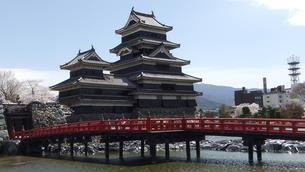 国宝松本城 埋の橋の写真素材 [FYI00243135]