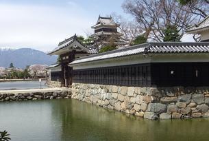 国宝 松本城-2の素材 [FYI00243143]
