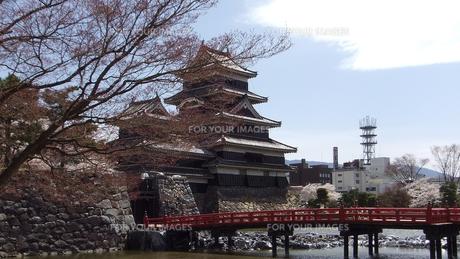 国宝松本城 埋の橋-2の素材 [FYI00243147]